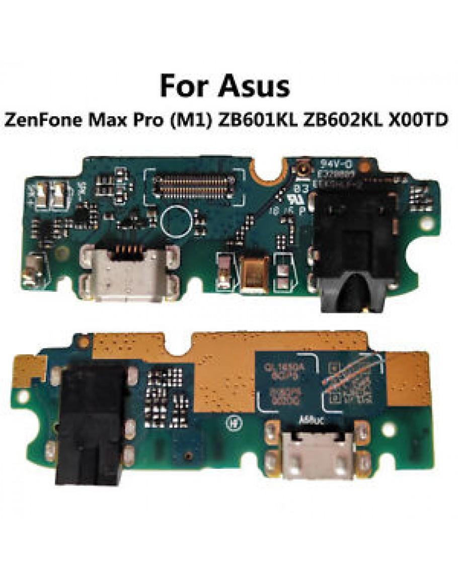 USB Charging Port Dock Mic Connector Flex Board For Asus Zenfone Max Pro  (M1) ZB601KL