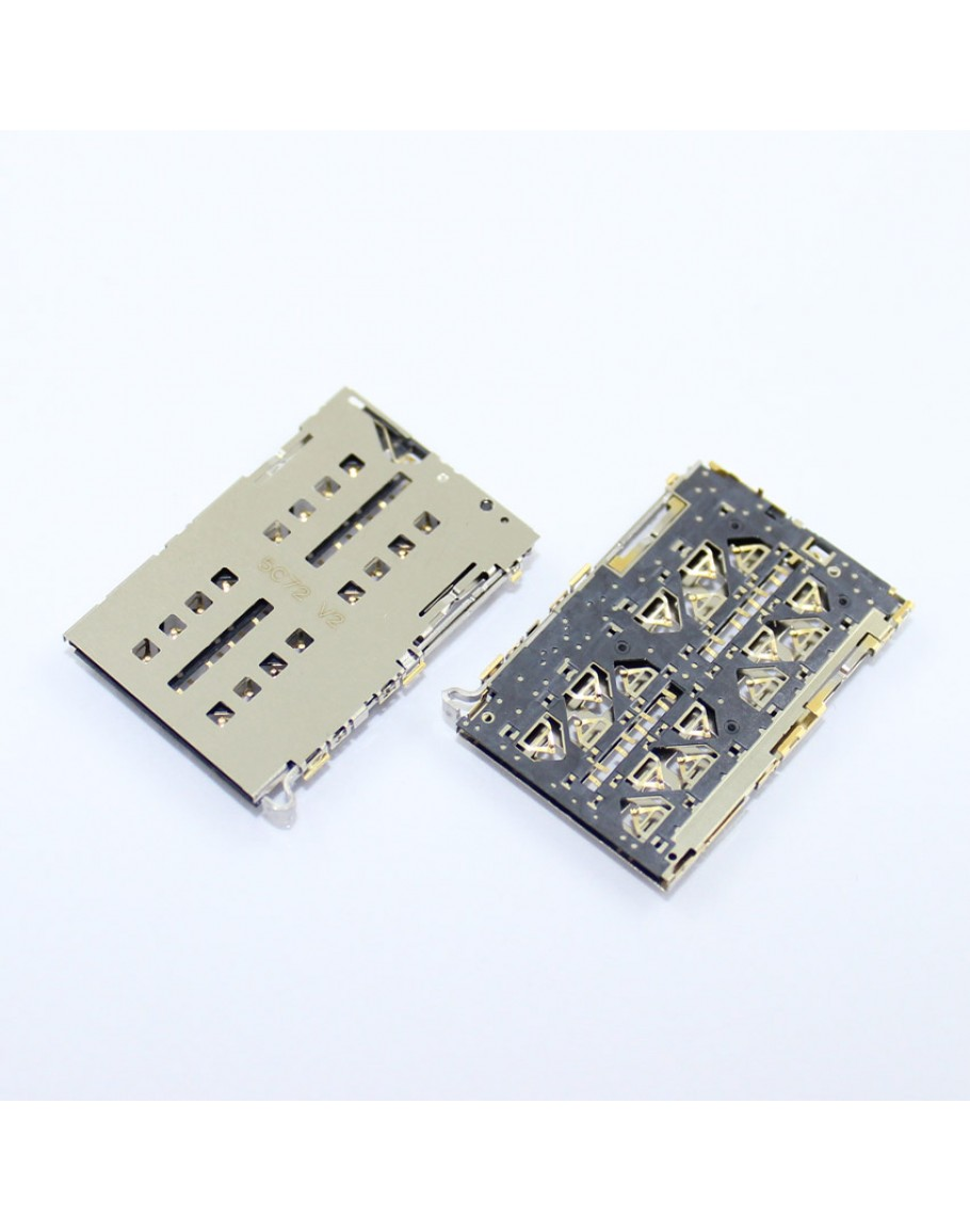 For Xiaomi Mi4i Mi 4c Mi 4i Sim Card Reader Holder Connector Pin Tray Slot
